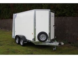 IFOR WILLIAMS BOX TRAILER: MODEL BV85G: YEAR 2008 *AS NEW* *A1 CONDITION*