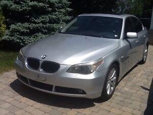 BMW 545i, 2004