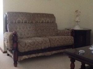 Lounge suite with coffee and side tables Bossley Park Fairfield Area Preview