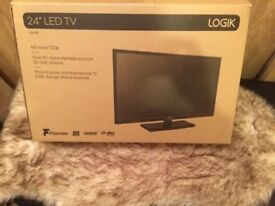 Logik 24 inch LCD TV