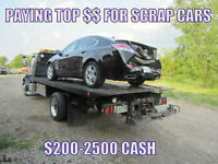 CASH for your Scrap/Unwanted Vehicle(s)! 905-512-0805