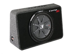 Kicker CompRT 12in Loaded SLIM Automotive Subwoofer -New in box