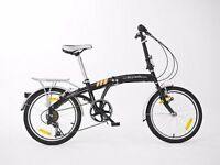 Virtually new folding bike - Oslo Explorer from Bicycles4U. £75.