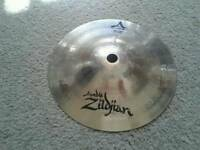 "Zildjian a custom. 6"" splash"