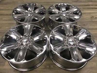 """20"""" Ford F-150 Expedition King Ranch OEM 2018 rims wheels CHROME 2015 2016 2017"""