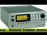 Roland Sound Canvas SC-8850 plus de 1640 sounds realistic.