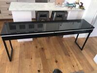 LONG BLACK TABLE / SIDE BOARD