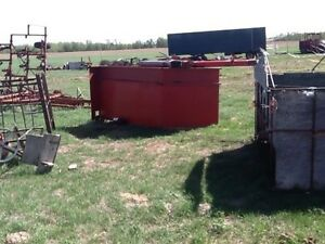 Drill fill, Tractor, Dodge cab & chasis, Grain cart