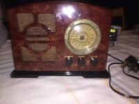Steepletone Radio Cassette Player retro style
