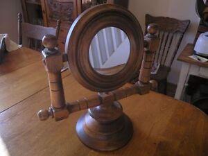 Décoration - Miroir Rond Style Marin En Bois - 50$