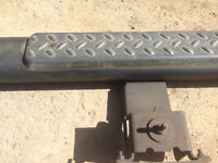 FLAT BLACK DODGE SIDE STEP