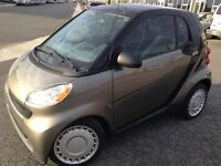 2009 Smart Fortwo Two-Tone Grey/Black Hatchback