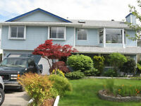 Bright and Spacious 3 bdrm Upper Floor of House