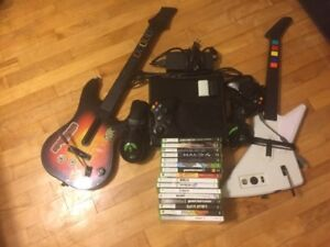 Great Condition XBOX 360 with Two Controllers & 16 Games