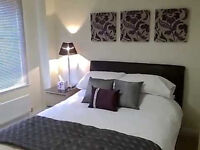 En-suite double bedroom with kitchenette, wifi and TV - £30 per night