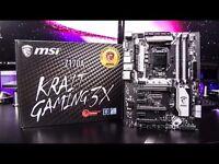 MSI Z170A, Krait Gaming X3 Motherboard.