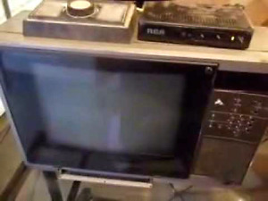 Vintage Sony Trinitron Color TV