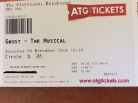 Ghost Musical - Edinburgh 2 Tickets
