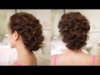 Traving hair stylist for wedding parties