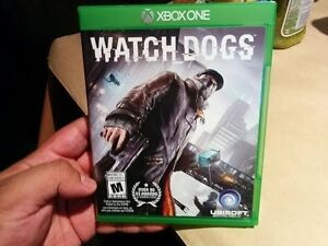 Xbox One Watch Dogs Game