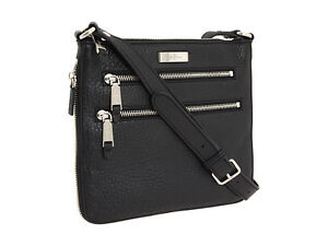 New Cole Haan Village Sheila Crossbody Black $198 Free Shipping