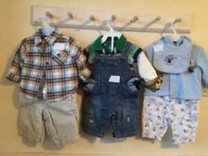 Baby Boy Clothing- 0 to 6 months Name brand