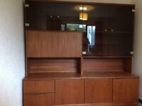 Morris of Glasgow Display Unit with drawers and storage cupboards.