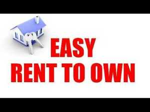 offering RENT TO OWN  when you just need a couple years help