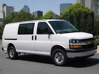1 ton cargo van with WCB and commercial insurance
