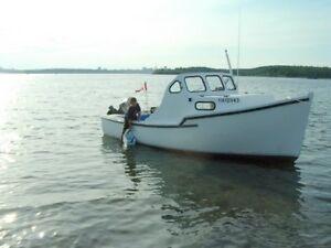 21' Baby Cape - 90 HP Mariner