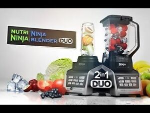 Ninja - Nutri Ninja Blender Duo with Auto-iQ Model: BL641c 1300w