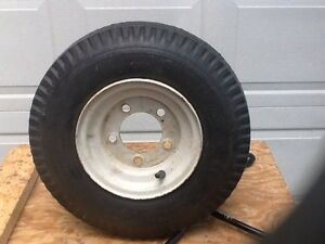 Trailer spare wheel assembly