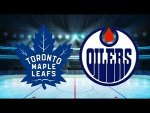 MAPLE LEAFS VS EDMONTON OILERS FEB 27TH A FEW PAIR AVAILABLE!
