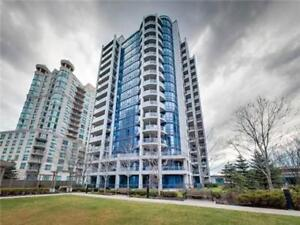 Two Bedroom Bright waterfront furnished condo with parking