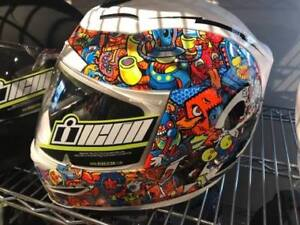 ICON MOTORCYCLE HELMETS IN STOCK AT HALIFAX MOTORSPORTS
