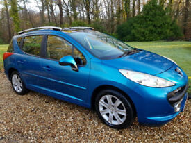 2008 Peugeot 207 SW 1.6 VTi 120 Sport Superb Example throughout