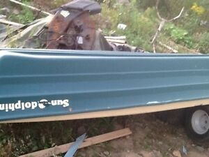 for sale or trade --Boat and motor