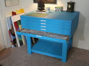 Flat file cabinet kijiji free classifieds in ontario find a wood blueprintart file cabinet malvernweather Gallery