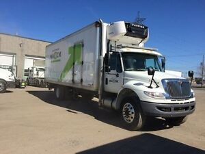 2014 International 4300 4x2, Used Reefer Van