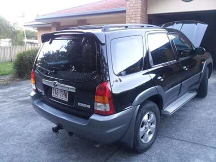 Black Mazda Tribute 2002 Luxury Southport Gold Coast City Preview