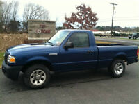 2008 Ford Ranger blue Coupe (2 door)