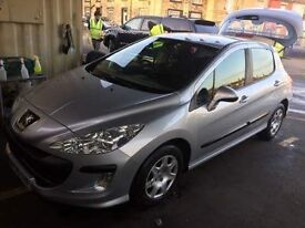 2009 Peugeot 308 HDI Diesel with 30£ tax