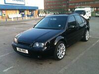 Volkswagen Bora Saloon Black 2004