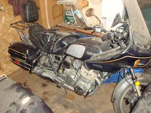 1981 Yamaha XS11 Touring bike