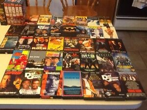 VHS Movies 50 cents or 3 for $1.00