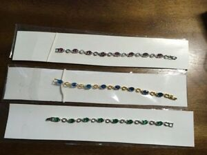 3 Brand New Tennis Bracelets. Price is for each. Open to offers.