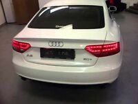 Audi A5 full rear side tail gate lights bumper