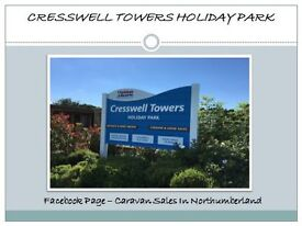 Static Caravan Holiday Home Bring On And Part Exchange Tourer At Cresswell Towers Northumberland