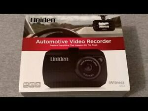 Uniden i Witness 1080p High Definition Dash Camera (DCAM+$60