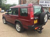 2001 Land Rover Discovery 4.0 auto V8i ES (7 seat) gas conversion